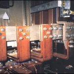 Particolare di collegamento blindo sbarra ventilata 2500A / 400V lato quadro distribuzione.