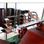 Particolare collegamento trasformatore in resina da 3500KVA 15/0,4KV con blindo sbarra ventilata da 6300A (Cu) 3P+N/2.