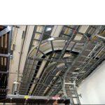 Sistema di canalizzazione principale con scaletta porta cavi