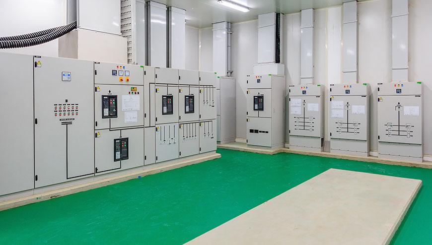 Impianti elettrici di distribuzione industriale