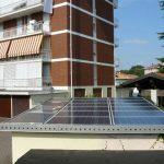 Particolare dell'integrazione totale 2,925 kWp