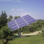 Inseguitore solare a due assi 2,76 kWp