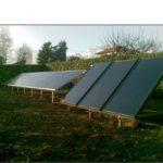 Impianto fotovoltaico fisso su struttura a terra 1,85 kWp (tipo non integrato)