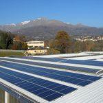 Vista impianto Fotovoltaico 100kWp